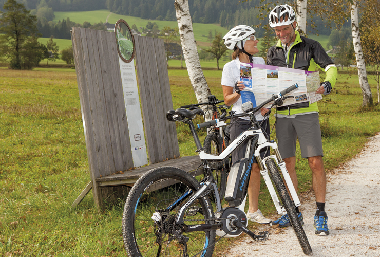 Hotel & Restaurant Bürglstein - Radfahren rund um den Wolfgangsee