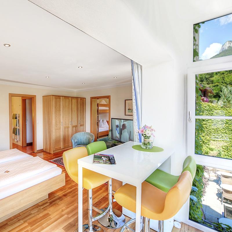 Hotel & Restaurant Bürglstein - Familien-Suite für bis zu 6 Personen
