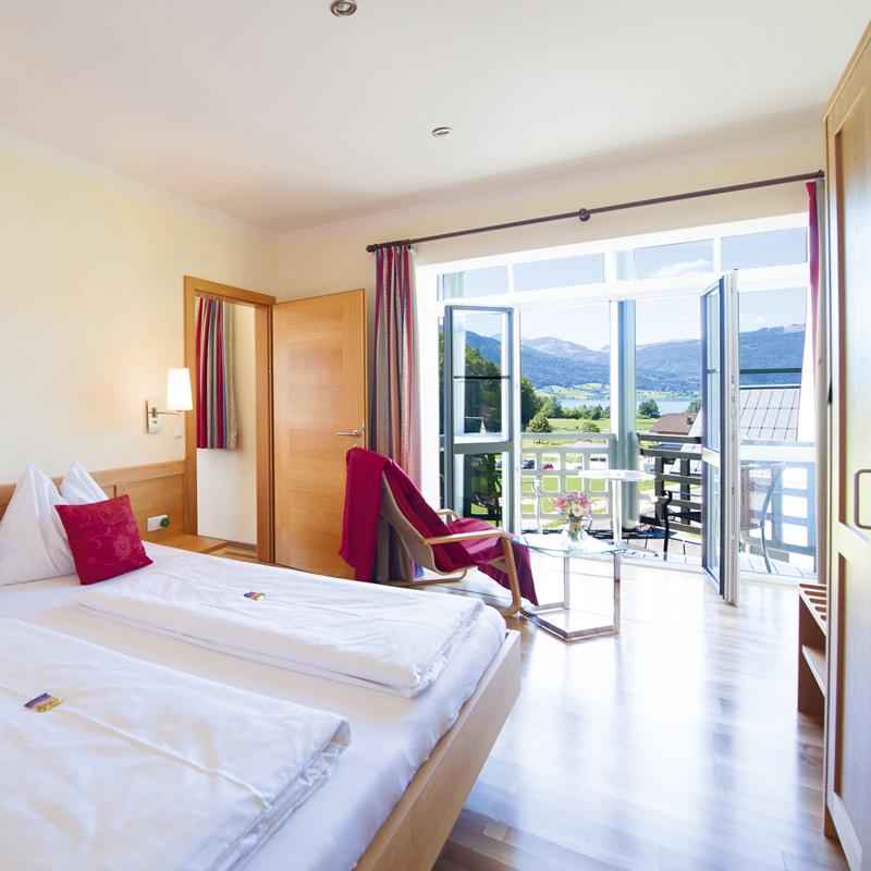 Hotel & Restaurant Bürglstein - Seeblick-Suite für bis zu 4 Personen