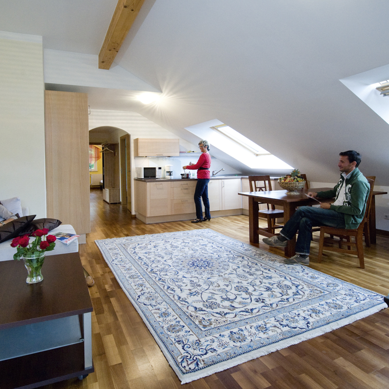 Hotel & Restaurant Bürglstein - Top-Suite für bis zu 6 Personen