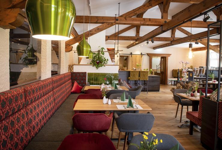 Hotel & Restaurant Bürglstein am Wolfgangsee - unser neuer Gastraum