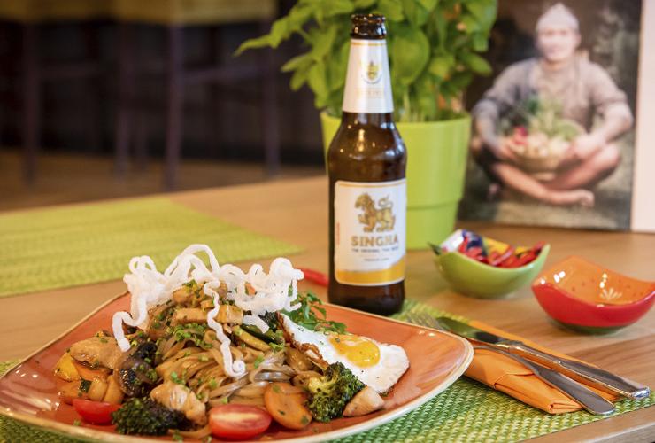Hotel & Restaurant Bürglstein am Wolfgangsee - lecker-leichtes Thai Food