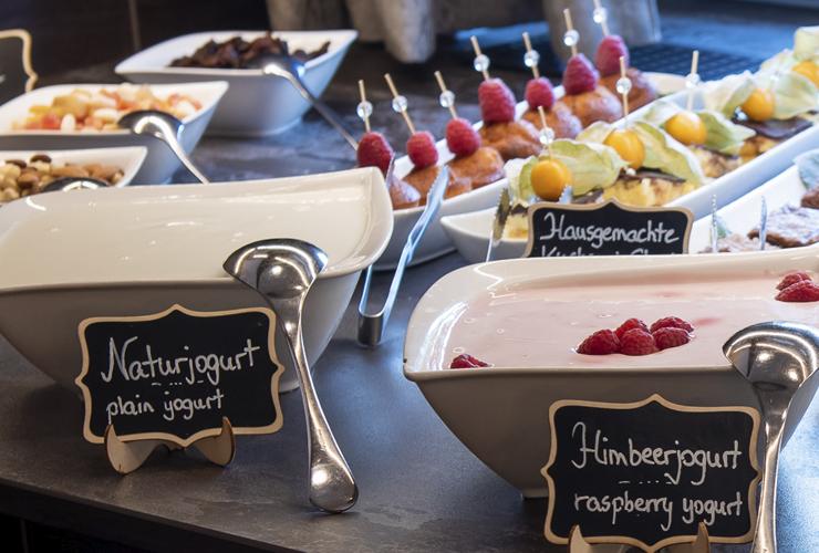 Hotel & Restaurant Bürglstein am Wolfgangsee - Frühstücksbuffet